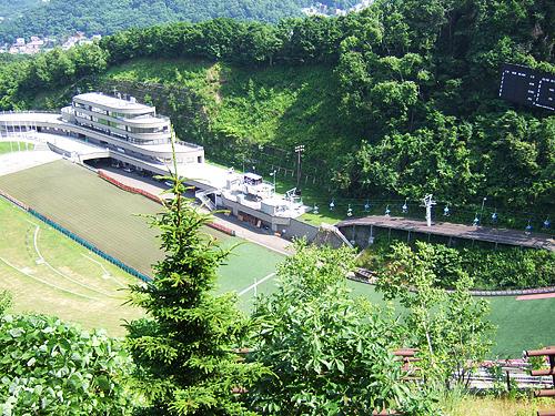 大倉山 ジャンプ台 スタート地点 階段