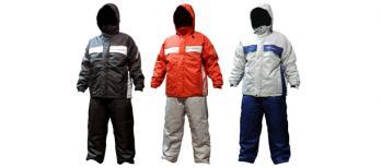防水防寒スーツ