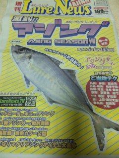 アジング ルアーニュース増刊号1