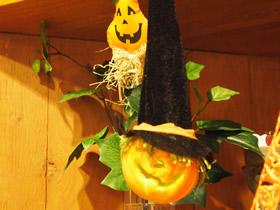 Halloween店内2