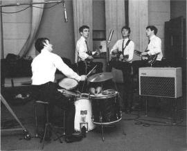 beatles recording