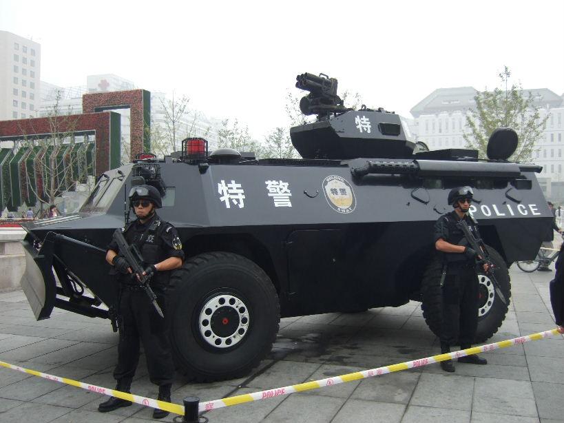 国慶節装甲車