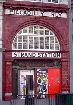 ロンドン、アルドウィッチ駅