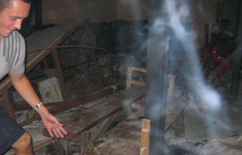スマトラ沖大地震後にタイで撮られた心霊写真