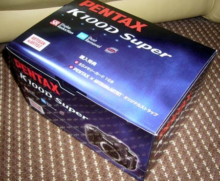 PENTAX K100D Super ボディー