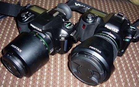 K100DS+DA50-200と*istDS+DA16-45