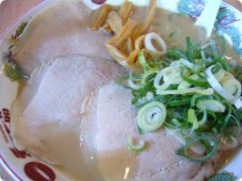 天下一品 チャーシュー麺