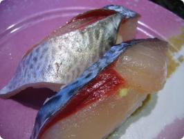 魚がし鮨 流れ鮨 生鯖