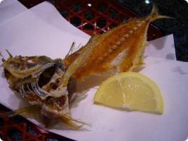 魚がし鮨 流れ鮨 鯵骨せんべい4
