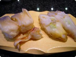 魚がし鮨 流れ鮨 貝