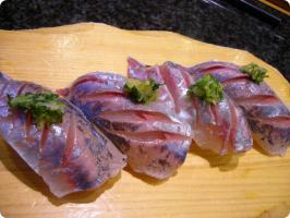 魚がし鮨 流れ鮨 鯵