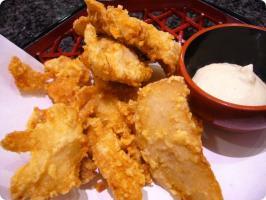 魚がし鮨 流れ鮨 カワハギ唐揚げ