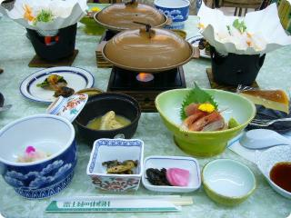 富士緑の休暇村 1夕食 11