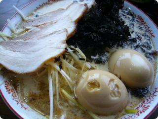 哲麺 全部のせ