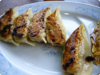 哲麺 餃子