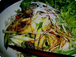 ぼだい樹 韓国風サラダ