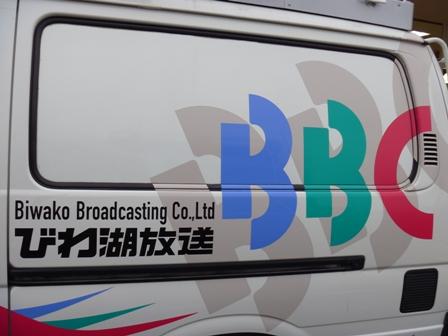 TV局の車