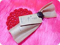 くちびるくりーむ 椿みつ・パッケージ