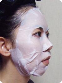 アウェイク ハーバルV フェイスフォルミング マスク・使用図