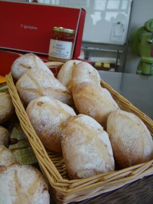 はちみつときんかんのパン