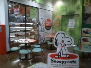 snoopy cafe1