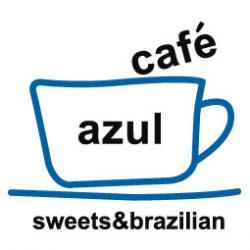 cafe azul rogo