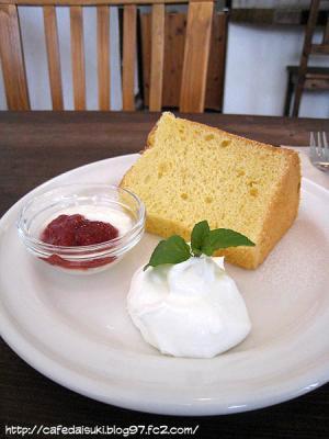 yuki cafe◇本日のシフォンケーキ(レモン)