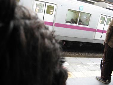 ママと電車