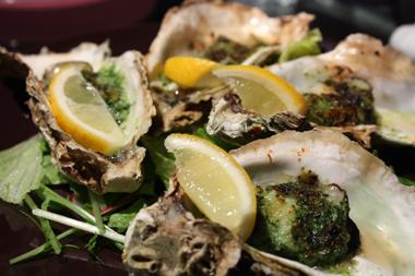 ★05牡蠣の香草焼き