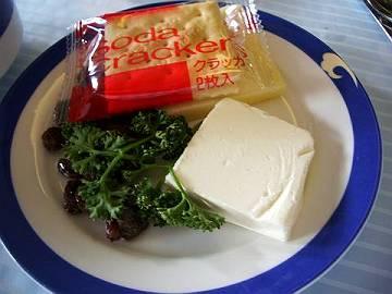 中国国際航空(CA)機内食おつまみ1