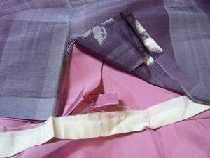 右脇の裾。