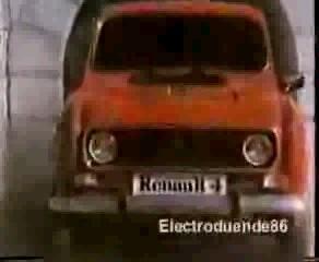 Renault 4 - Anuncio 1985
