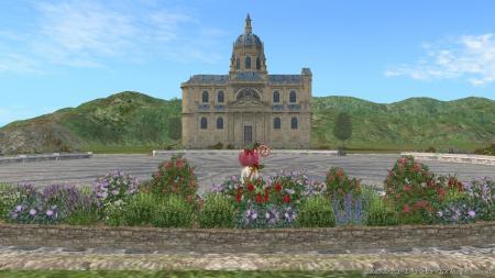 広場からの公会堂