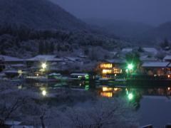 嵐山 夜明け前