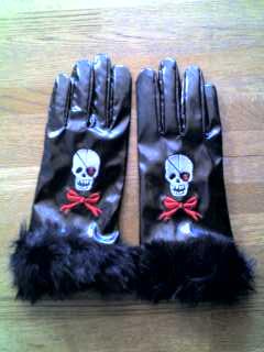 どくろ手袋
