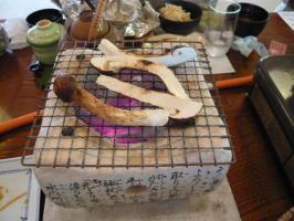 マツタケ姿焼き2