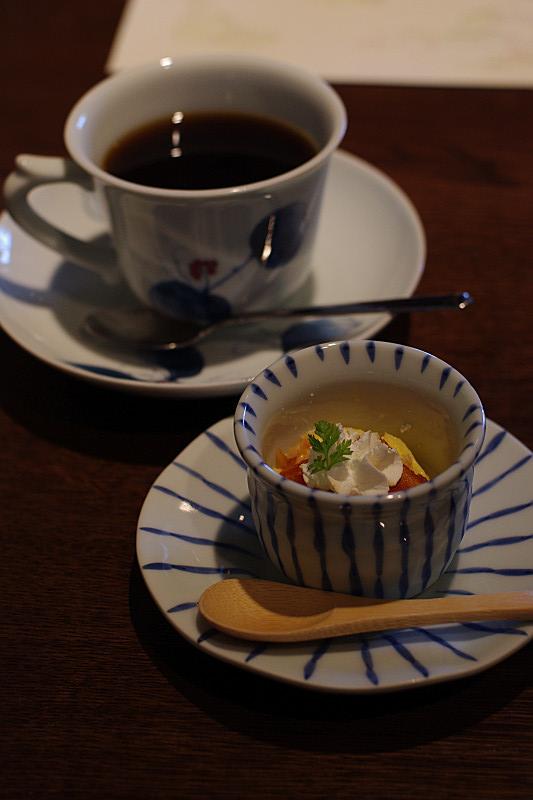 デザート・コーヒー付