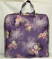 着物バッグ 紫