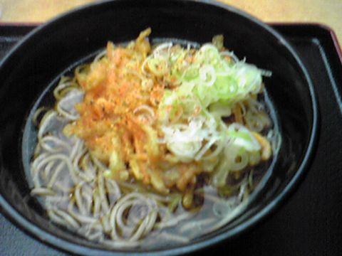 川崎にて 380円のお蕎麦☆