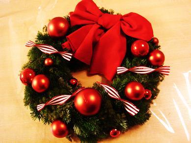 クリスマスリース071216