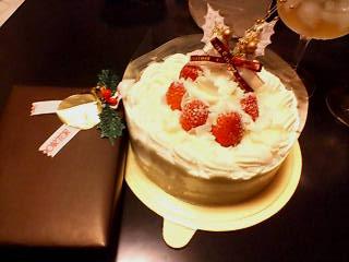 ケーキ&プレゼント