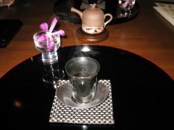 お茶・・・何て言うお茶だったか・・・(^^ゞ