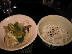 ご飯は雑穀米