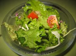 サラダ付き