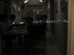 ギャラリールームからの夜景