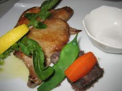 地鶏若肉のパリパリ焼き
