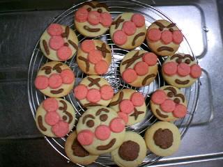 091010あんぱんまんクッキー