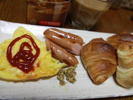091015 朝ご飯