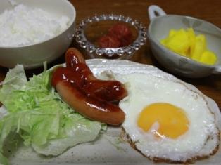 091027 朝ご飯