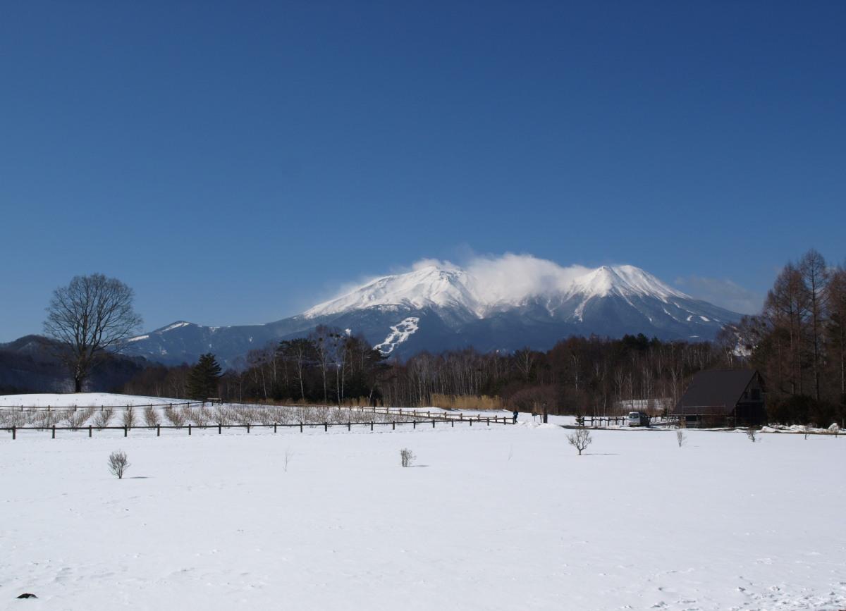 雪の開田高原